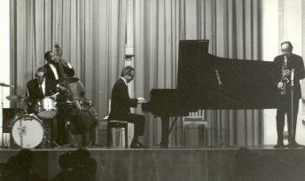 The Dave Brubeck quartet in 1967