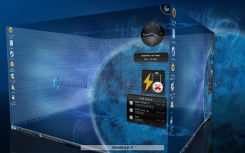 Kubuntu 9.04 Dsktop Effects